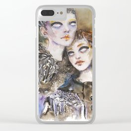 Fashion October 2018 Clear iPhone Case