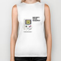 bmo Biker Tanks featuring Game Bmo by KScully