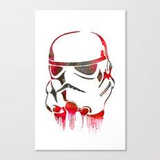 Storm Trooper Print Canvas Print