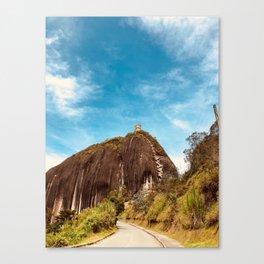 La roca Canvas Print