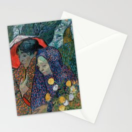 Memory of the Garden at Etten (Ladies of Arles) Stationery Cards