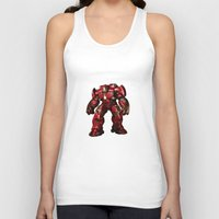 iron man Tank Tops featuring IRON MAN iron man by alifart