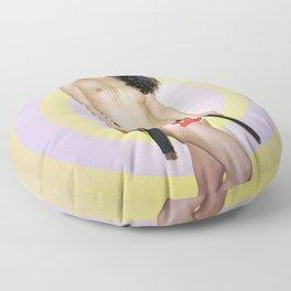 Girls got Balls - censored version Floor Pillow