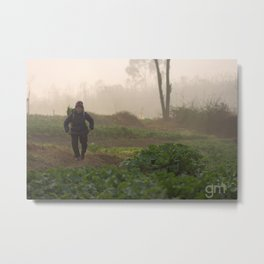 Chinese Countryside. Metal Print
