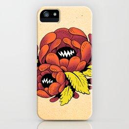 Grim Blossom iPhone Case