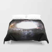 the shining Duvet Covers featuring Shining Light by Labartwurx