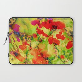 floral and textures Laptop Sleeve