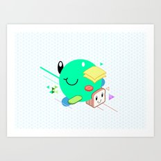 Tasty Visuals - Sandwich Time Art Print