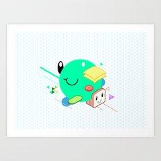 Tasty Visuals - Sandwich Time Art Print