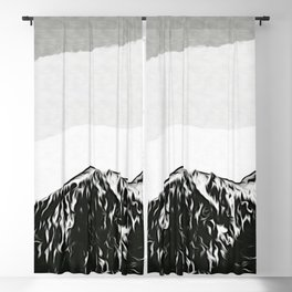 Montain Blackout Curtain
