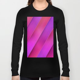 pink line Long Sleeve T-shirt