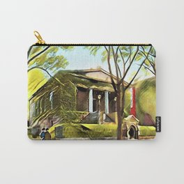 Providence Athenæum Library Benefit Street Landscape Painting by Jeanpaul Ferro Carry-All Pouch