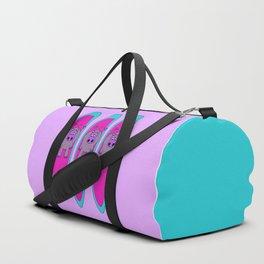 Three Hippos Surfing Duffle Bag
