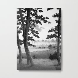 Revisiting Kana Metal Print