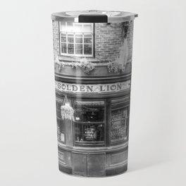 The Golden Lion Pub York Travel Mug