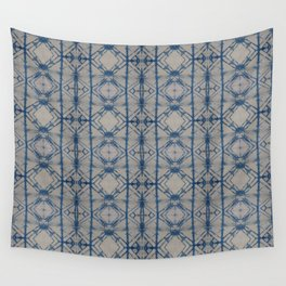 Shibori Mirror Wall Tapestry