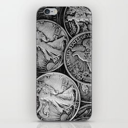 Walking Liberty Coins iPhone Skin