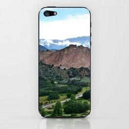 Garden of the Gods iPhone Skin