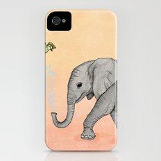 Elephant and the Bird iPhone (4, 4s) Slim Case