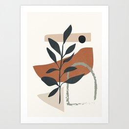 Abstract Shapes 35 Art Print