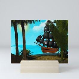 Turquoise Seas Mini Art Print