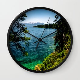 The Emerald Water Wall Clock