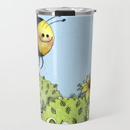 The Little Busy Bee Travel Mug