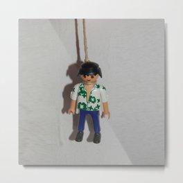 playmobil suicide Metal Print