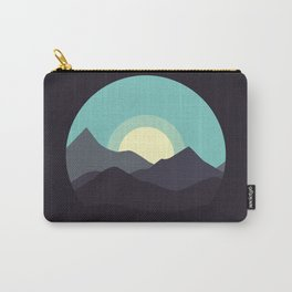 Minimal Mountain Night Carry-All Pouch