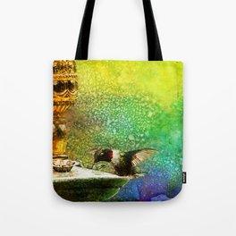 Jewel Hummingbird ~ Ginkelmier Inspired Tote Bag