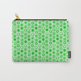 Geo Mini Flower Carry-All Pouch