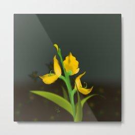 Yellow Fabaceae Metal Print
