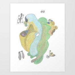 Drawing #13 Art Print