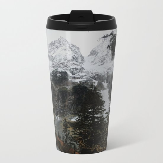 Cascade River Rd Metal Travel Mug