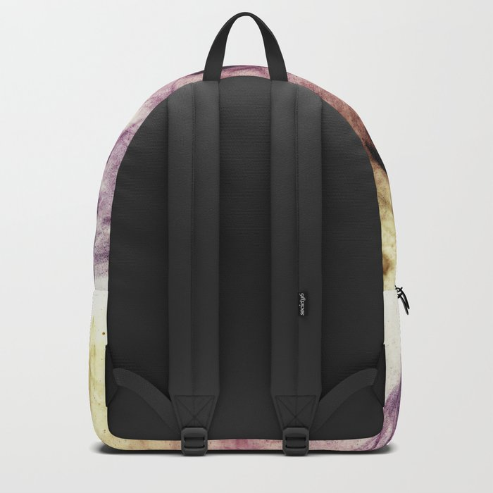 Beautiful Purple Brown Smoky Dust Backpack