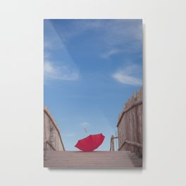 Lost umbrella  Metal Print