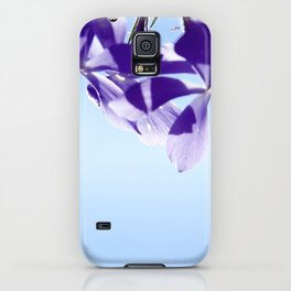 lost in blue iPhone Case