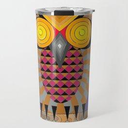 El búho Canario Travel Mug