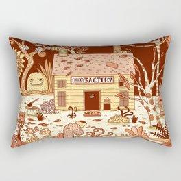 Eureka Factory Rectangular Pillow