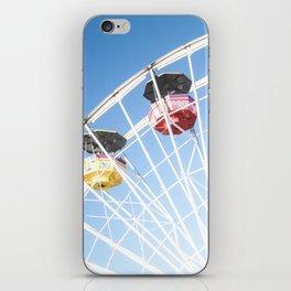 Santa Monica Ferris Wheel iPhone Skin