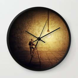 idea achievement Wall Clock