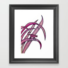 tedirgin Framed Art Print