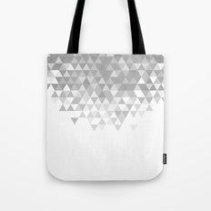 Triangles B&W Tote Bag