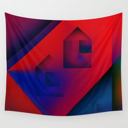 Dreaming about Homes Wall Tapestry