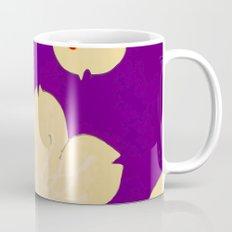 Purple Japanese Floral Vintage Pattern Coffee Mug