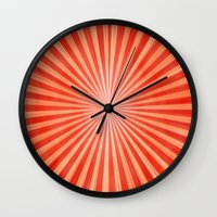 graphic design Wall Clocks featuring Graphic Design by ArtSchool
