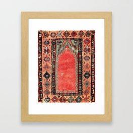 Sivas  Antique Cappadocian Turkish Niche Kilim Print Gerahmter Kunstdruck
