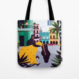 Havana ft. Salsa Dancers Tote Bag