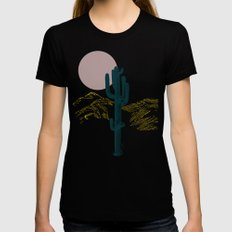 hace calor? X-LARGE Black Womens Fitted Tee