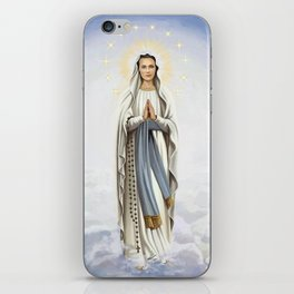 Our Lady of Lourdes  iPhone Skin